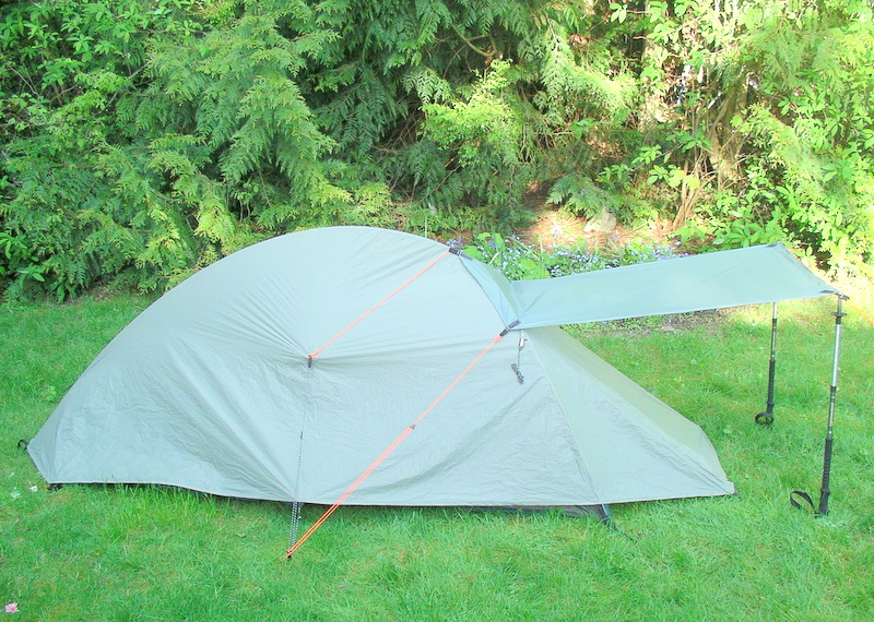Big Agnes Seedhouse SL1 & Tent Evolution |