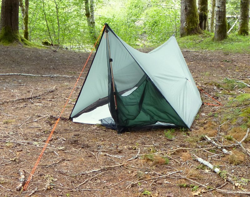 Six Moons Night Wing tent & Tent Evolution |