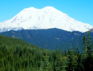 New snow - Rainier