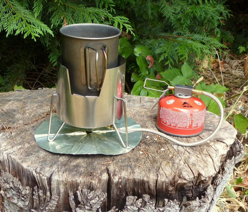 Kovea Spider Windscreen for Mugs Camping Stoves, Ovens